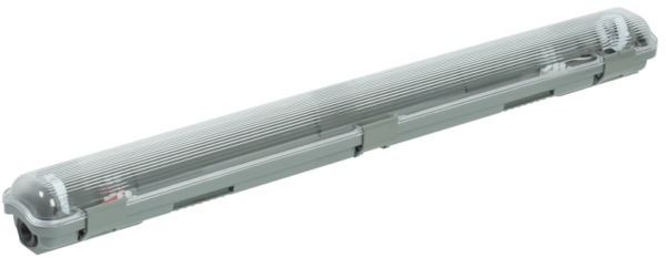Светильник ДСП 2101 под LED лампу 1хT8 600мм IP65 ИЭК LDSP0-2101-1X060-K01