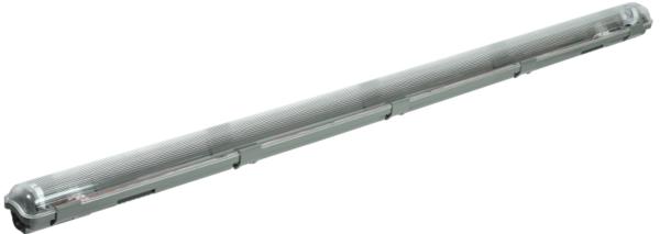 Светильник ДСП 2201 под LED лампу 1хT8 1200мм IP65 ИЭК LDSP0-2201-1X120-K01