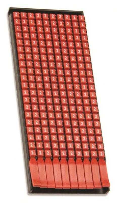 "Маркер для кабеля 1.5-2.5мм символ ""1"" (уп.200шт) DKC MKF1S2"
