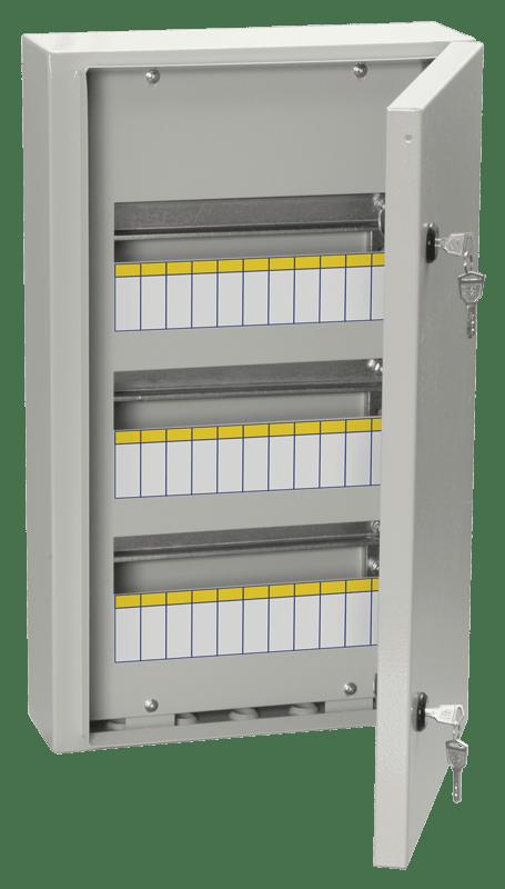 Корпус металлический ЩРн-36з-0 У2 IP54 ИЭК MKM11-N-36-54-Z