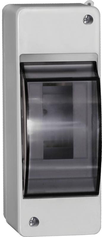 Бокс ОП КМПн 2/2 для 2 авт. выкл. прозр. крышка IP30 ИЭК MKP42-N-02-30-20