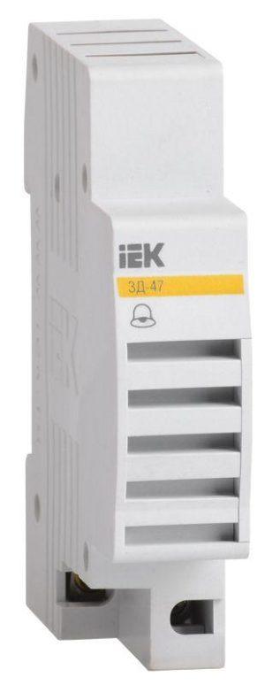 Звонок на DIN-рейку ЗД-47 ИЭК MZD10-230