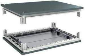 Комплект дно + крыша для шкафа RAM BLOCK CQE 1000х400 DKC R5KTB104