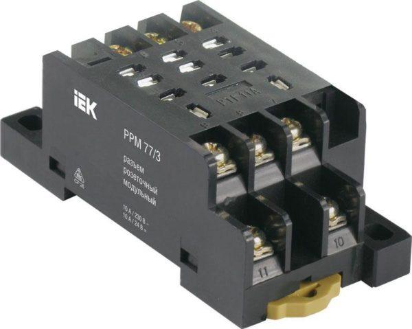 Разъем модульный РРМ77/4(PTF14A) для РЭК77/4(LY4) ИЭК RRP10D-RRM-4