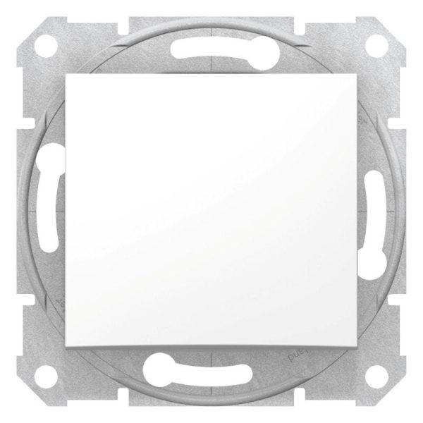 Механизм выключателя 1-кл. СП Sedna 10А IP20 бел. SchE SDN0100121