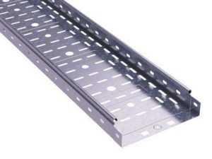 Лоток листовой перфорированный 50х50 L3000 сталь 0.6мм S3 DKC SPL3505