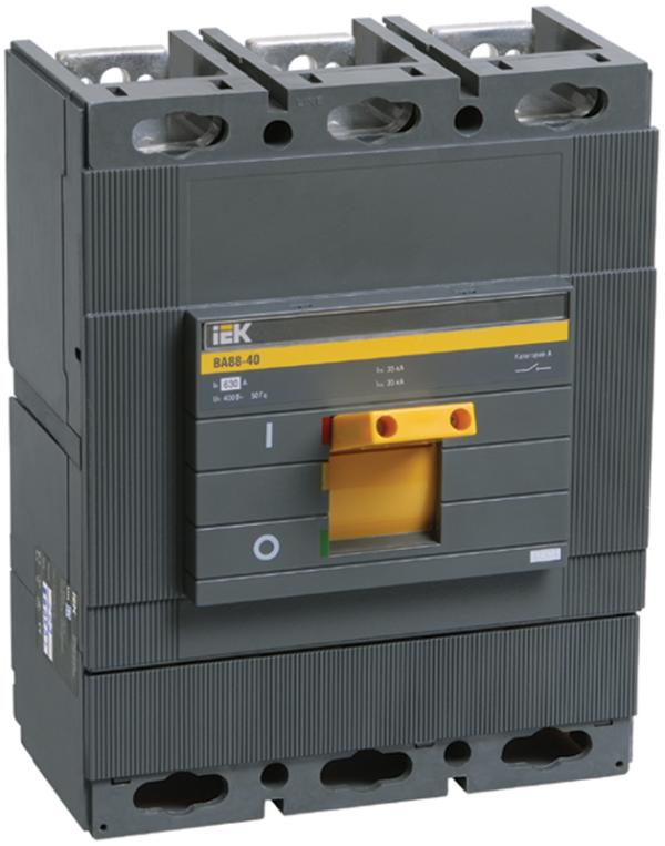 Выключатель автоматический 3п 630А 35кА ВА 88-40 ИЭК SVA50-3-0630