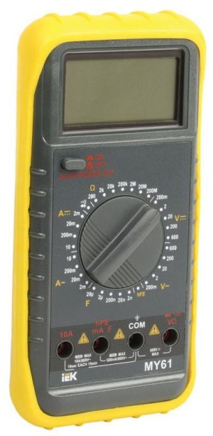 Мультиметр цифровой Professional MY61 ИЭК TMD-5S-061