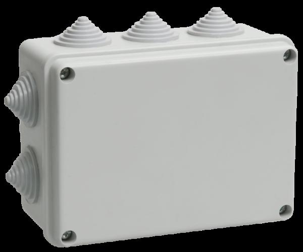 Коробка распаячная ОП 150х110х70 IP55 KM41242 (10 каб.ввод.) ИЭК UKO10-150-110-070-K41-55