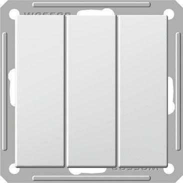 Выключатель 3-кл. СП W59 16А IP20 без рамки бел. SchE VS0516-351-1-86