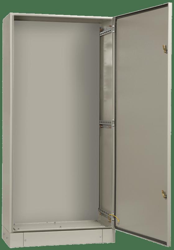 Корпус металлический ЩМП-16.6.4-0 74 У2 IP54 ИЭК YKM40-1664-54