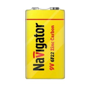 Элемент питания солевой 94 762 NBT-NS-6F22-SH1 (шринка 1шт) Navigator 94762