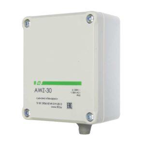 Фотореле AWZ-30 30А 13 IP65 встроенный фотодатчик монтаж на поверх. F&F EA01.001.004