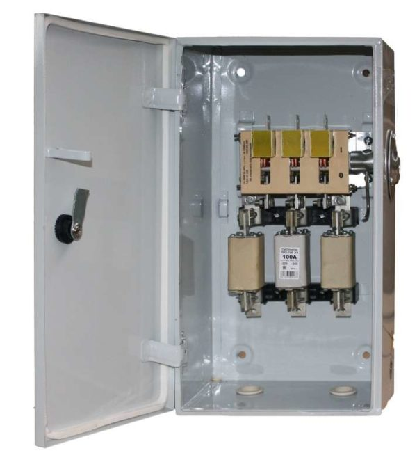Ящик сил. ЯРП-100А IP54 Электрофидер