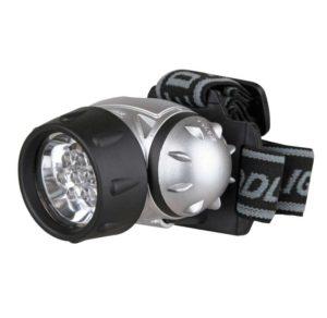 Фонарь налобный LED 5351 (7LED 3 режима; 3хR03 метал.) Ultraflash 10260