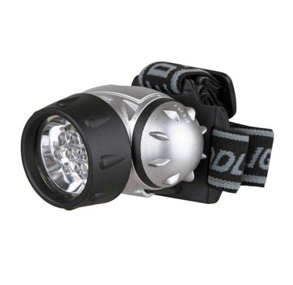 Фонарь налобный LED 5352 (14LED 4 режима; 3хR03 метал.) Ultraflash 10261