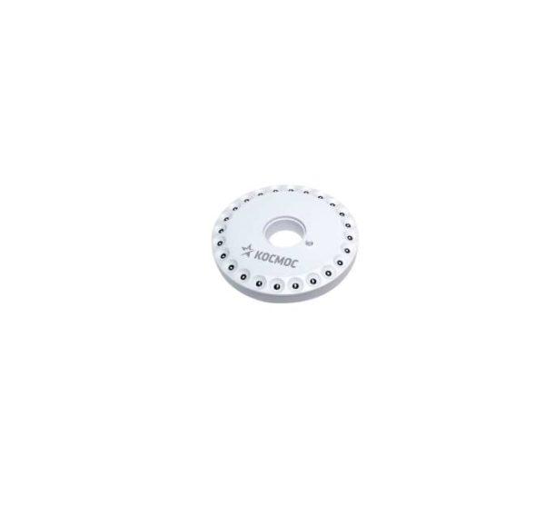 Фонарь LED 3031 (24хLED 4хAA) диск. кемпинг Космос KOC3031LED