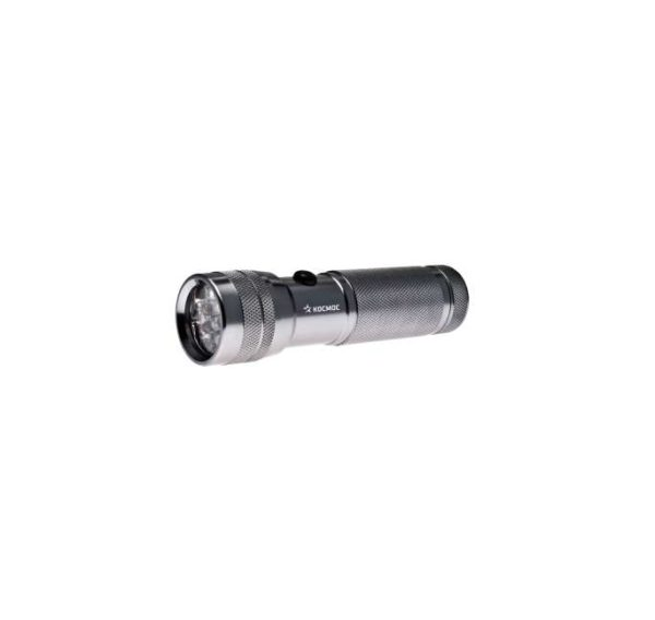 Фонарь светодиодный M3712-C-LED 12хLED 3хAAA металл Космос KOC-M3712-C-LED