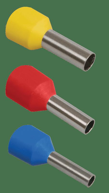 Наконечник-гильза изол. Е3516 35кв.мм (уп.100шт) ИЭК UGN10-035-16-16