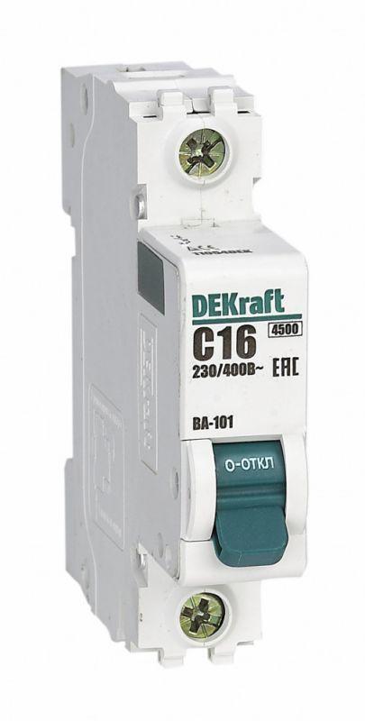 Выключатель автоматический модульный 1п B 25А 4.5кА ВА-101 SchE 11008DEK