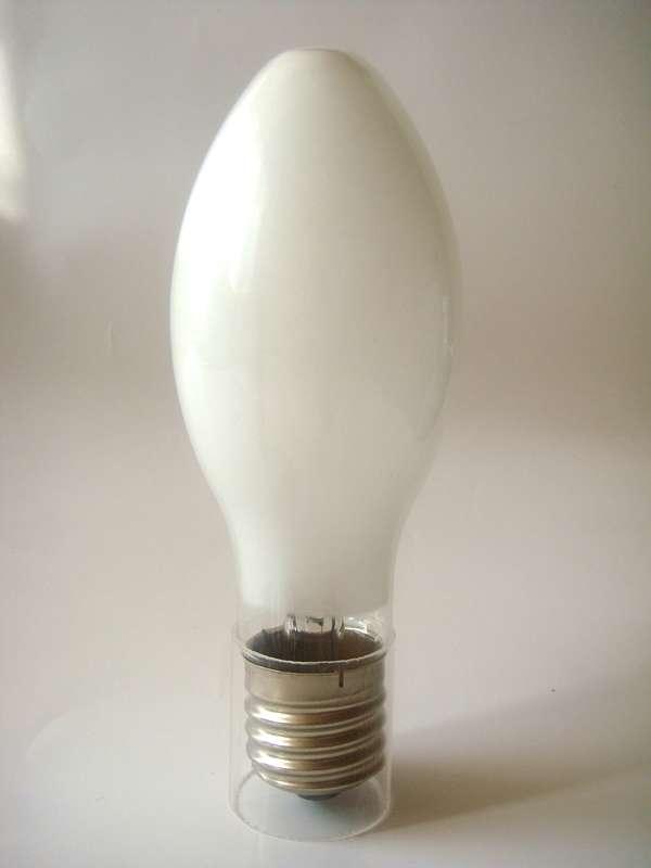 Лампа газоразрядная ртутная ДРЛ 125Вт эллипсоидная E27 (21) Лисма 381009200