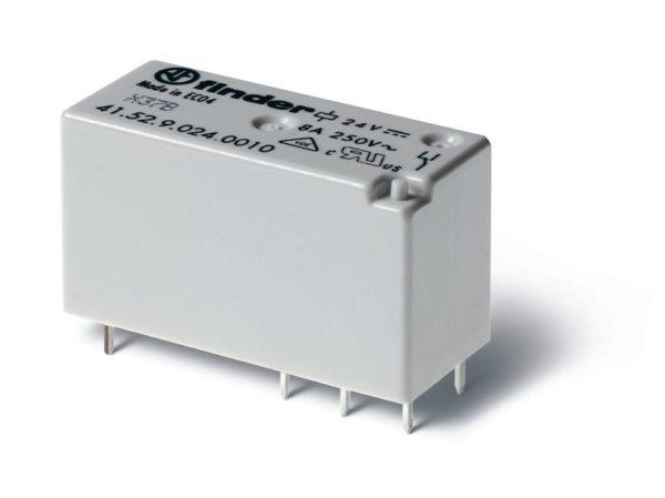 Реле миниатюрное 2CO 8А 24В DC FINDER 415290240010