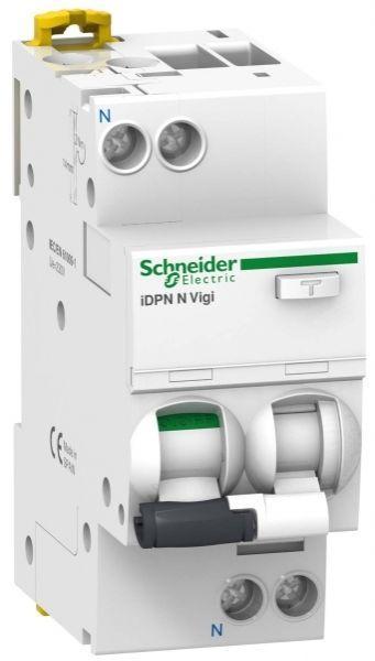 Выключатель автоматический дифференциального тока 2п (1P+N) C 16А 30мА тип A 6кА iDPN N VIGI Acti9 S