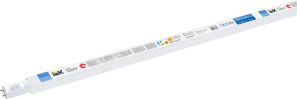 Лампа светодиодная T8 24Вт линейная 230В 6500К G13 ИЭК LLE-T8-24-230-65-G13