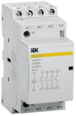 Контактор модульный КМ20-40М AC ИЭК MKK11-20-40