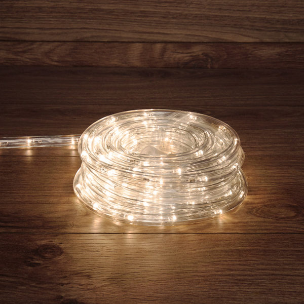 Дюралайт LED, свечение с динамикой (3W), 24 LED/м, ТЕПЛЫЙ БЕЛЫЙ, 6м
