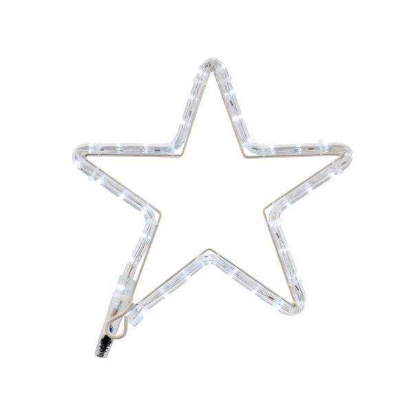"Фигура световая ""Звездочка LED"" цвет белый, размер 30*28 см  NEON-NIGHT"