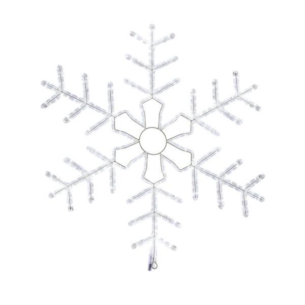 """Фигура световая """"Снежинка"""" цвет белый, размер 95*95 см,  мерцающая  NEON-NIGHT"""