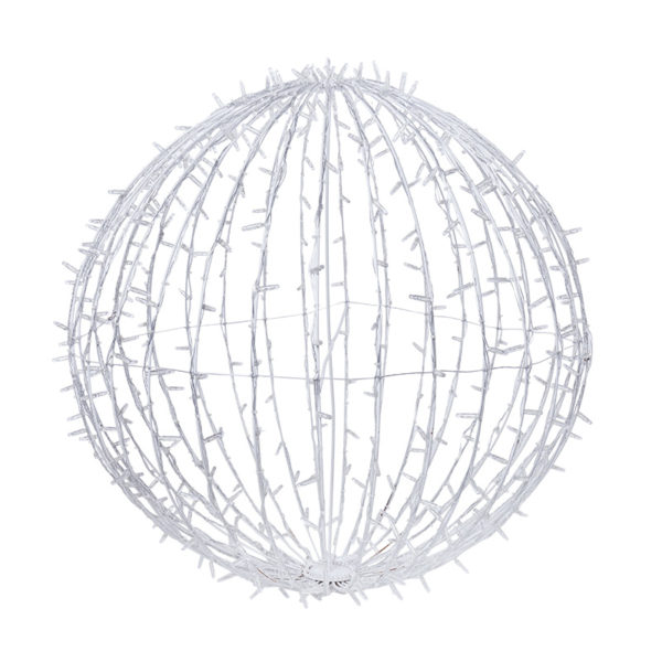 Шар светодиодный 230V, диаметр 90 см, 320 светодиодов, цвет белый