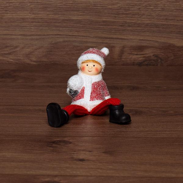 Керамическая фигурка «Мальчик» с подвесными ножками 6.6х5.5х9.5 см