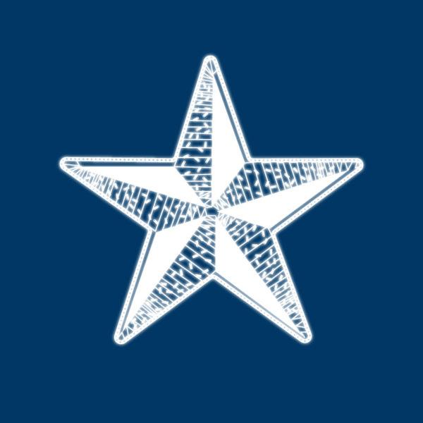 Светодиодная фигура «Звезда» 50 см, 80 светодиодов, с трубой и подвесом, цвет свечения белый NEON-NIGHT