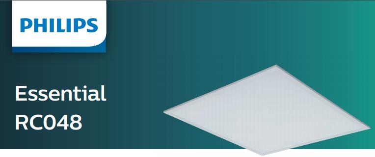 Бюджетный светильник с опаловым рассеивателем Essential RC048 от Philips